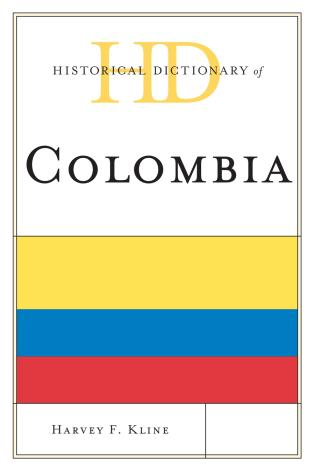 Cover image for the book Historical Dictionary of Colombia