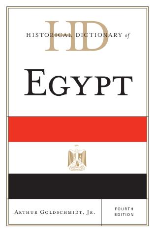 Cover image for the book Historical Dictionary of Egypt, Fourth Edition