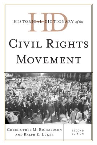 Cover image for the book Historical Dictionary of the Civil Rights Movement, Second Edition