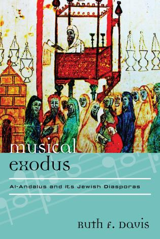 Cover image for the book Musical Exodus: Al-Andalus and Its Jewish Diasporas