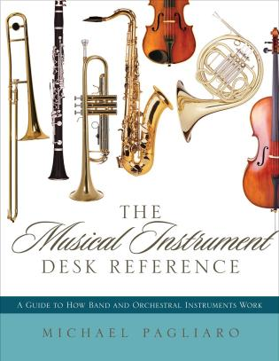 The musical instrument desk reference a guide to how band and the musical instrument desk reference fandeluxe Choice Image