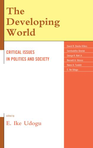 Cover image for the book The Developing World: Critical Issues in Politics and Society