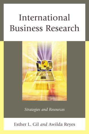 Cover image for the book International Business Research: Strategies and Resources