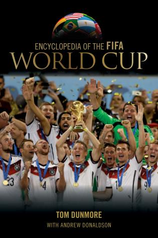 Cover image for the book Encyclopedia of the FIFA World Cup