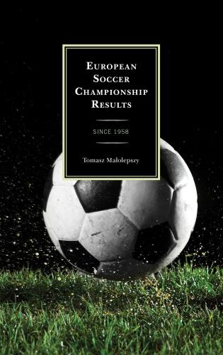 Cover image for the book European Soccer Championship Results: Since 1958