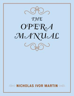 Cover image for the book The Opera Manual