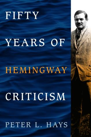 Cover image for the book Fifty Years of Hemingway Criticism