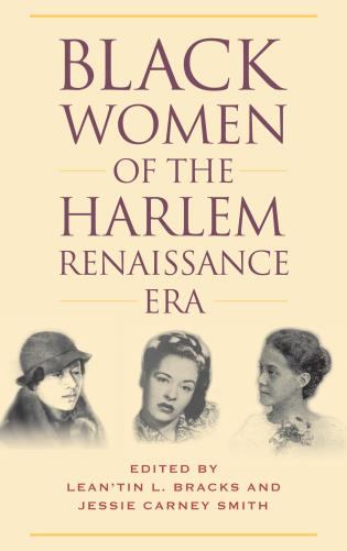 Cover image for the book Black Women of the Harlem Renaissance Era