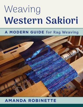 Cover image for the book Weaving Western Sakiori: A Modern Guide for Rag Weaving