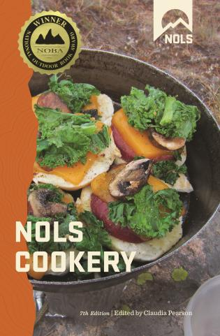 Cover image for the book NOLS Cookery, 7th Edition