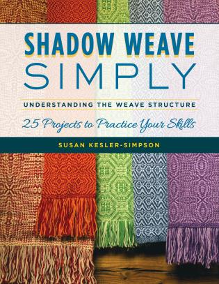 Cover image for the book Shadow Weave Simply: Understanding the Weave Structure 25 Projects to Practice Your Skills