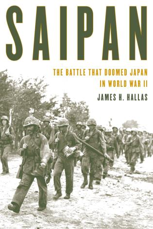 Cover image for the book Saipan: The Battle That Doomed Japan in World War II