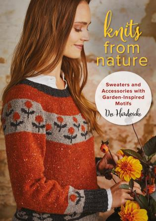 Cover image for the book Knits from Nature: Sweaters and Accessories with Garden-Inspired Motifs