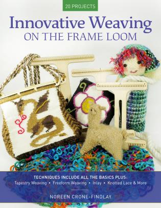 Cover image for the book Innovative Weaving on the Frame Loom