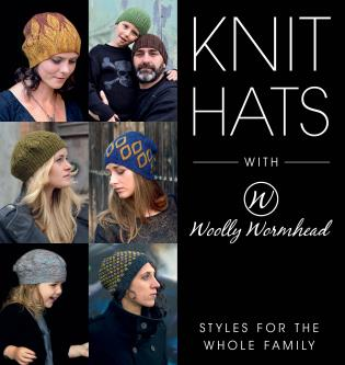 Cover image for the book Knit Hats with Woolly Wormhead: Styles for the Whole Family