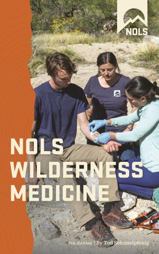 Cover image for the book NOLS Wilderness Medicine, Seventh Edition