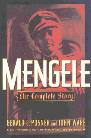 Cover image for the book Mengele: The Complete Story
