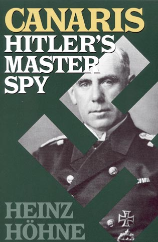 Cover image for the book Canaris: Hitler's Master Spy