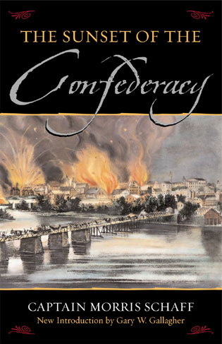 Cover image for the book The Sunset Of The Confederacy