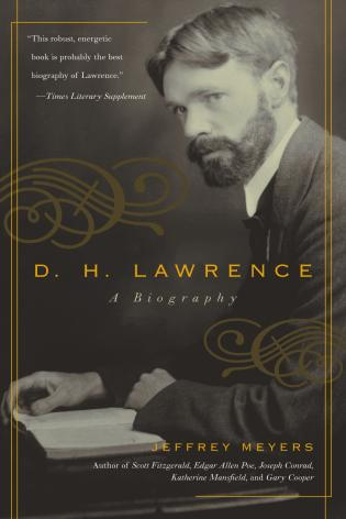 Cover image for the book D.H. Lawrence: A Biography