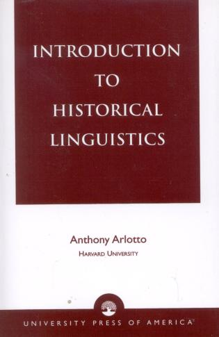 Cover image for the book Introduction to Historical Linguistics