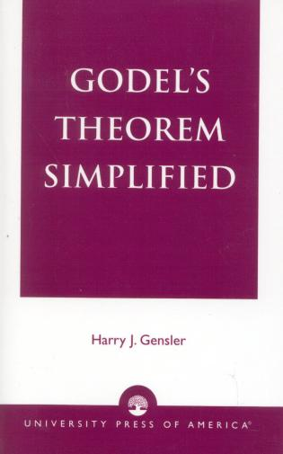 Cover image for the book Godel's Theorem Simplified