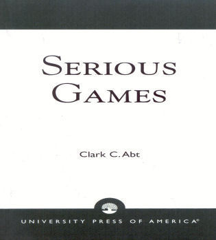 Cover image for the book Serious Games