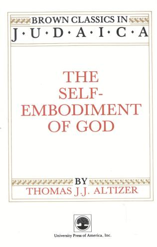 Cover image for the book The Self-Embodiment of God