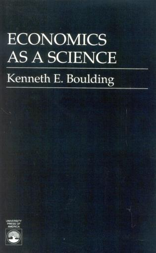 Cover image for the book Economics As a Science