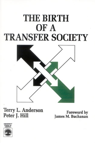 Cover image for the book The Birth of A Transfer Society
