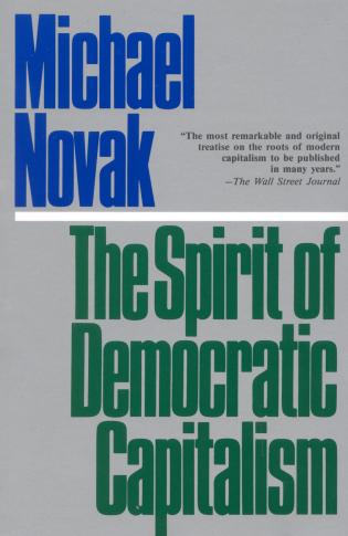 Cover image for the book The Spirit of Democratic Capitalism
