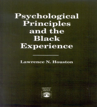Cover image for the book Psychological Principles and the Black Experience