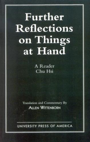 Cover image for the book Further Reflections on Things at Hand: A Reader
