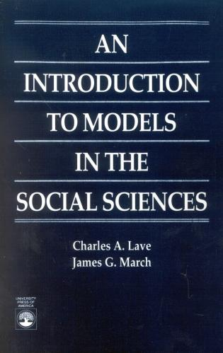 Cover image for the book An Introduction to Models in the Social Sciences