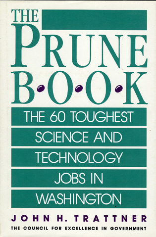 Cover image for the book Prune Book: The 60 Toughest Science and Technology Jobs in Washington