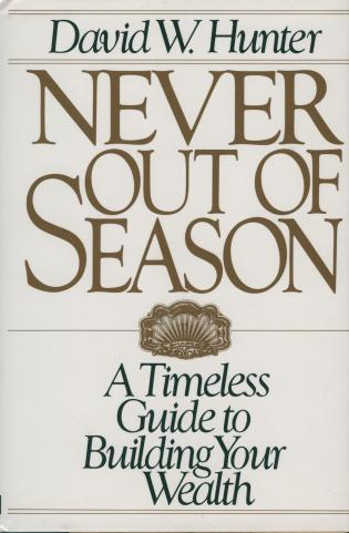 Cover image for the book Never Out of Season