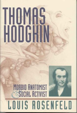 Cover image for the book Thomas Hodgkin