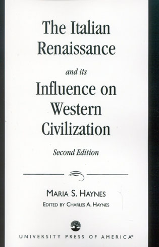 Cover image for the book The Italian Renaissance and Its Influence on Western Civilization, Second Edition