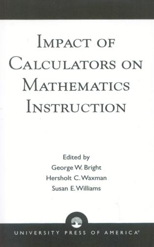 Cover image for the book Impact of Calculators on Mathematics Instruction