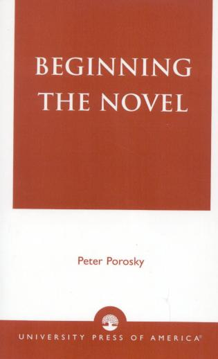 Cover image for the book Beginning the Novel