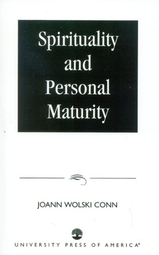 Cover image for the book Spirituality and Personal Maturity
