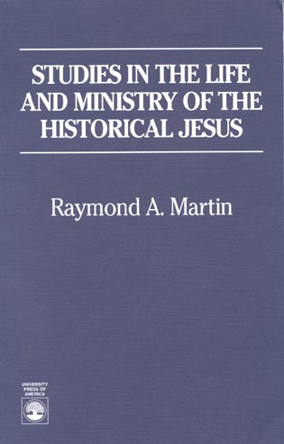 Cover image for the book Studies in the Life and Ministry of the Historical Jesus