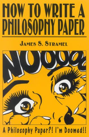 Cover image for the book How to Write a Philosophy Paper