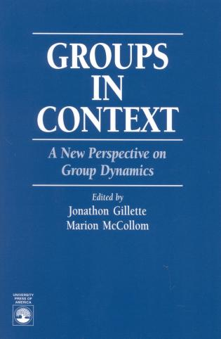 Cover image for the book Groups in Context: A New Perspective on Group Dynamics