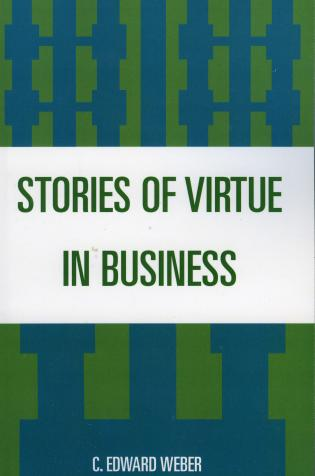 Cover image for the book Stories of Virtue in Business
