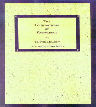 Cover image for the book The Foundations of Knowledge