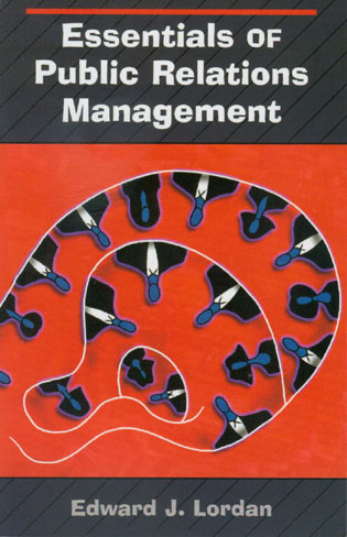 Cover image for the book Essentials of Public Relations Management