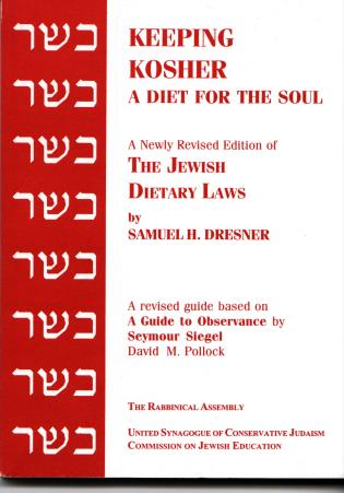 Cover image for the book Keeping Kosher: A Diet for the Soul, Newly Revised