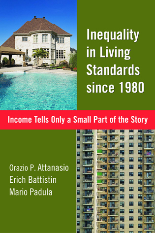 Cover image for the book Inequality in Living Standards since 1980: Income Tells Only a Small Part of the Story