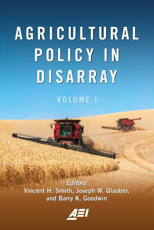 Cover image for the book Agricultural Policy in Disarray, Volume 1